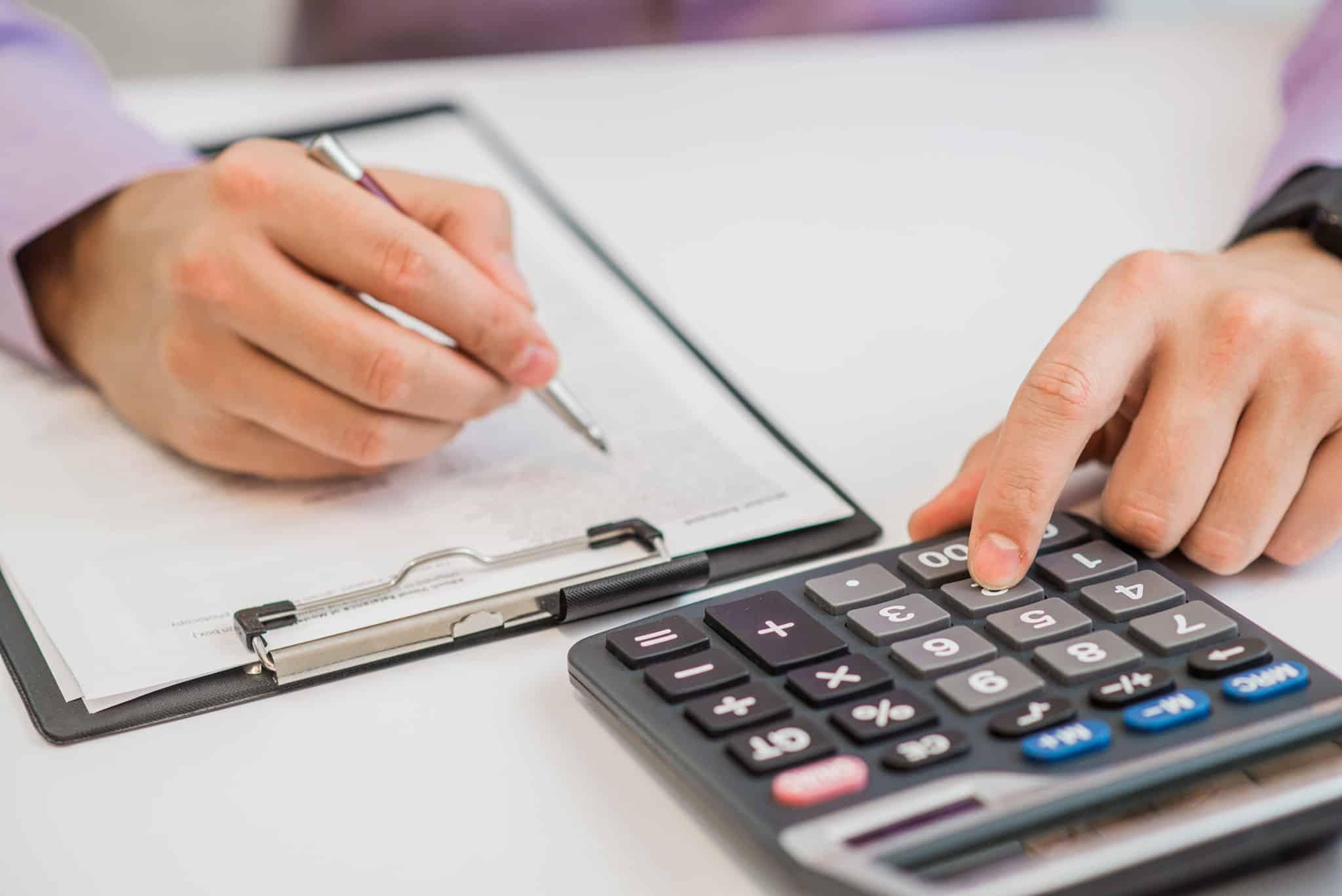 Kalkulationen mit Hilfe eines Taschenrechners