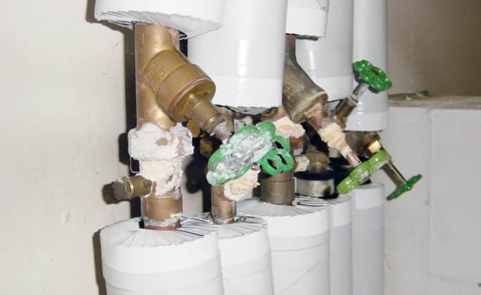 Technische Wartung: z.B. Heizung, Sanitär